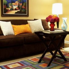 Color Schemes For Living Room With Brown Furniture Mattress India What Should I Paint My