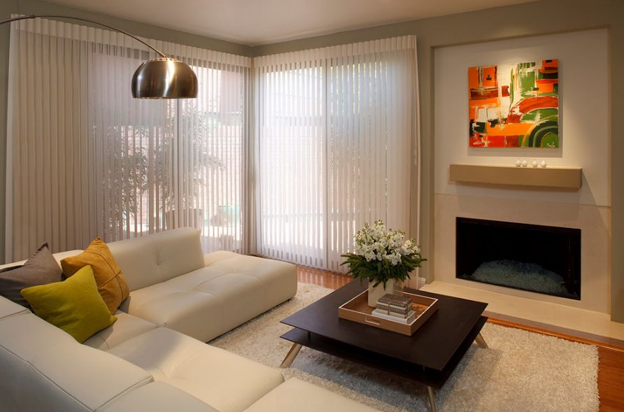 window blinds for living room small apartment decoration ideas types of