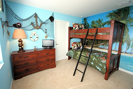 How To Turn Your Boys Room Into A Pirates Cove