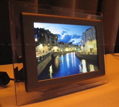 Digital Photo Frame To Match The Room Design