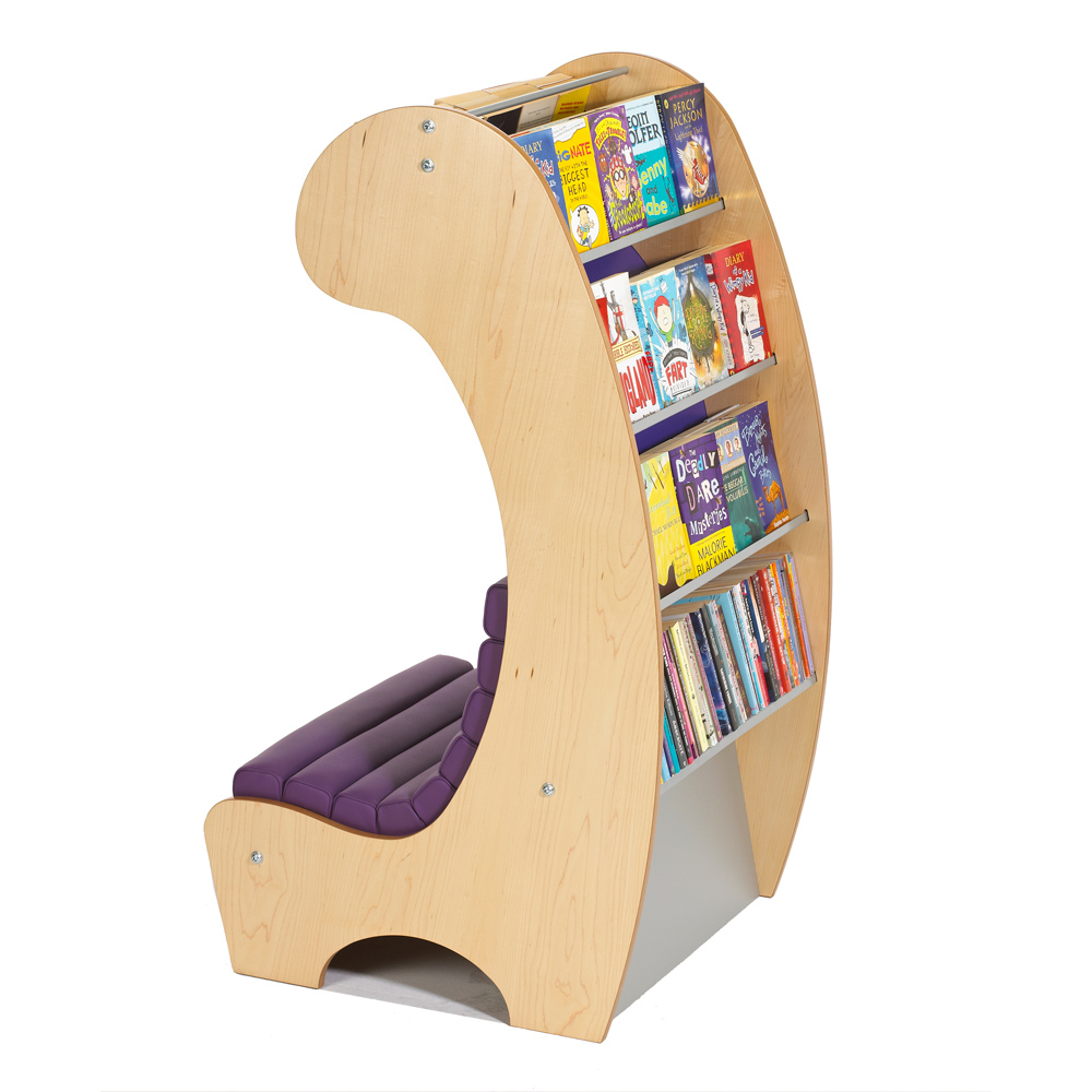 Ergonomic Reading Chair Stylish Seating Arrangements With Built In Bookcases
