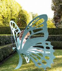 Wonderful Butterfly Bench