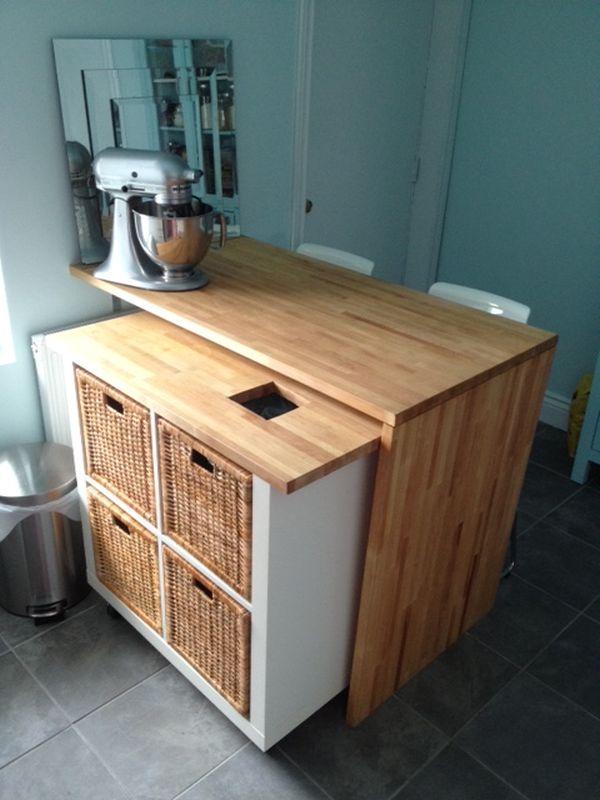 rolling kitchen cabinet best knobs 10 ikea island ideas