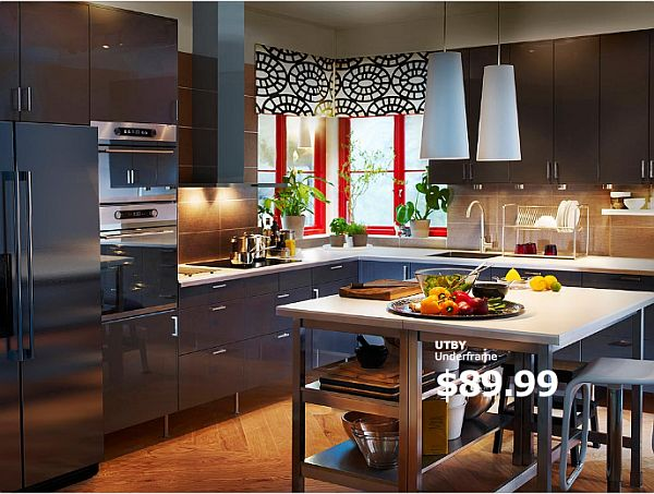 kitchen islands ikea large pantry 10 island ideas view in gallery