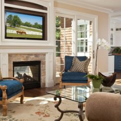 How To Decorate A Living Room With Black Leather Sectional The Best Wall Color For And Organize Space Around Fireplace