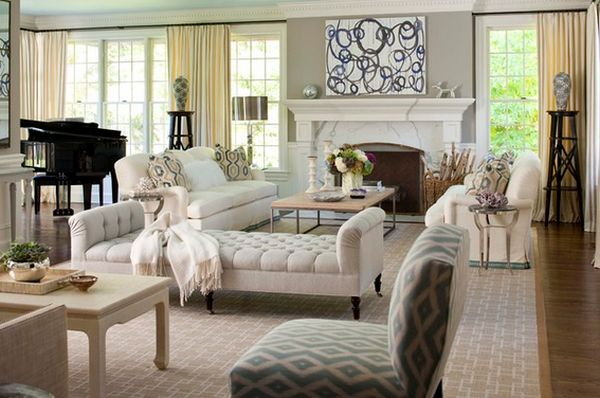 The Differences Between A Living Room And A Drawing Room