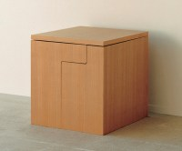Compact Cube Dining Table Set
