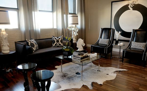 living room decorating with black furniture modern electric fireplace color design ideas textures and patterns