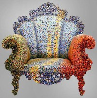 Colorful Proust Armchairs by Alessandro Mendini