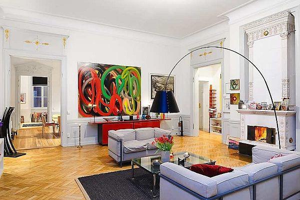 New York Apartment Design In Stockholm