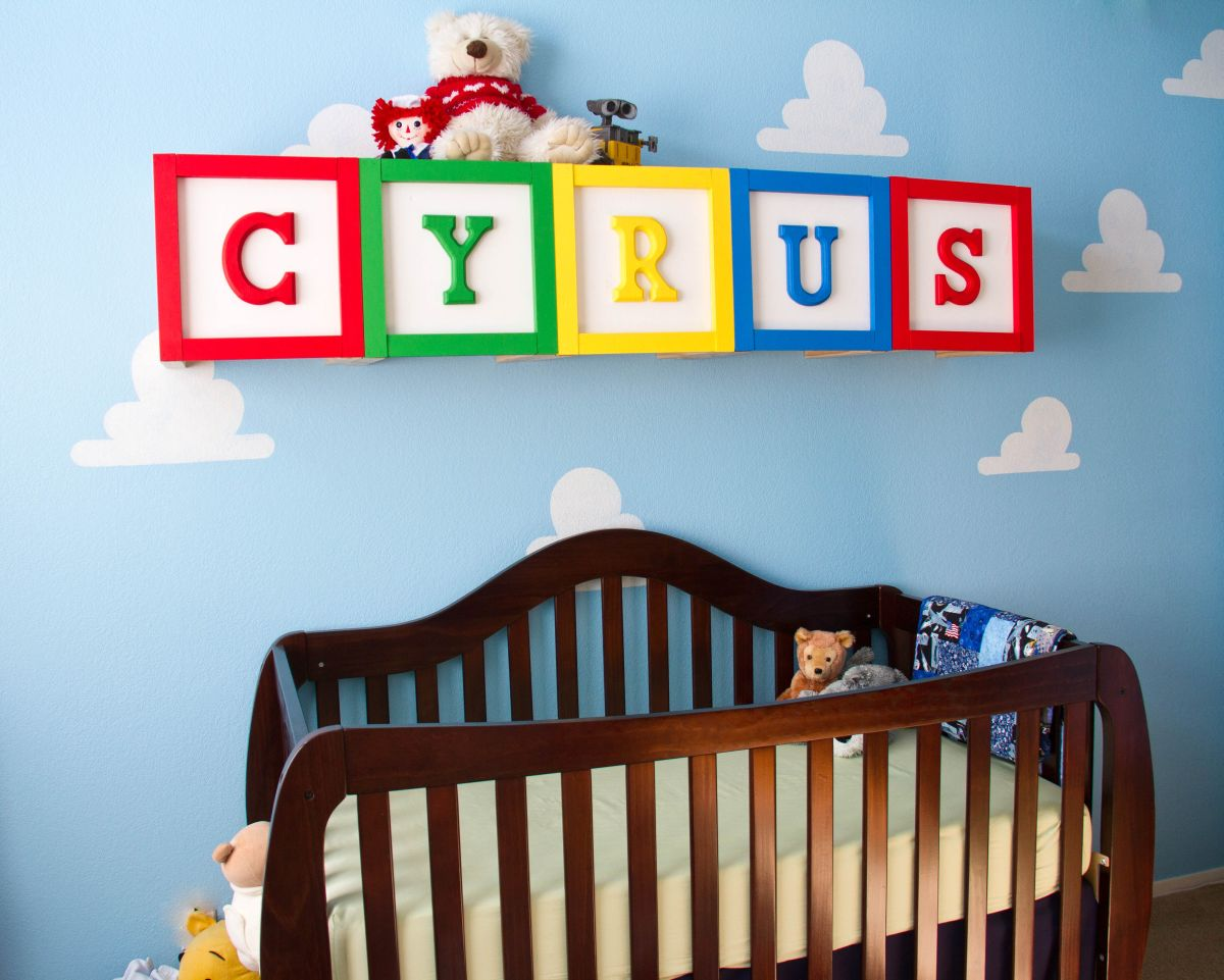 Toy Story Themed Kids' Room Design And Décor Options
