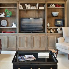 Living Room Entertainment Wall Ideas Modern Comfortable Center Natural Wood Furniture For