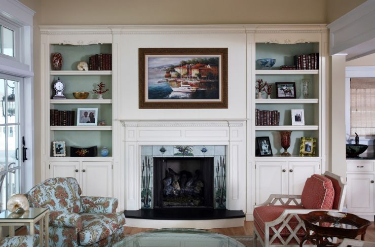 Comfortable Built In Cabinetry Tague Lumber - Usefulresults