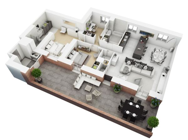 Understanding 3d Floor Plans And Finding Layout