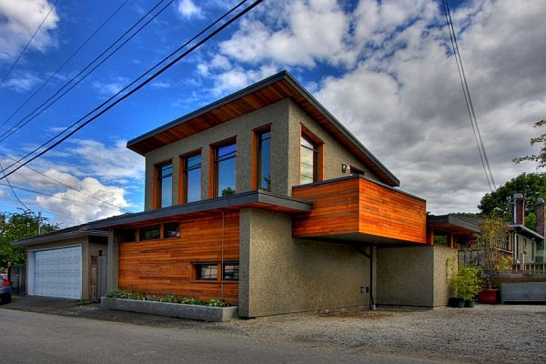 Garage Turned Into a House by Lanefab