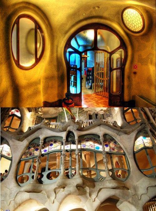 Fairy Tale Casa Batllo by Antoni Gaudi