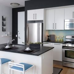 White Kitchen Cabinets Small Islands With Seating Minimalist Trends For A Chic And Simple Look