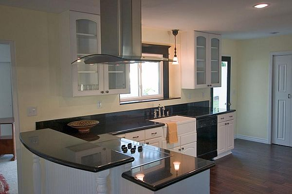 Small kitchen with bar design ideas