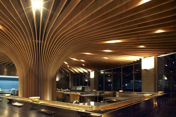 Modern TREE Restaurant In Sydney Australia