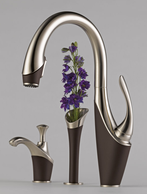 brizo kitchen faucet narrow cart graceful from