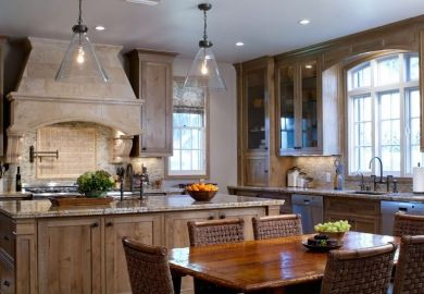 How To Design A Kitchen With Oak Cabinetry Homedit