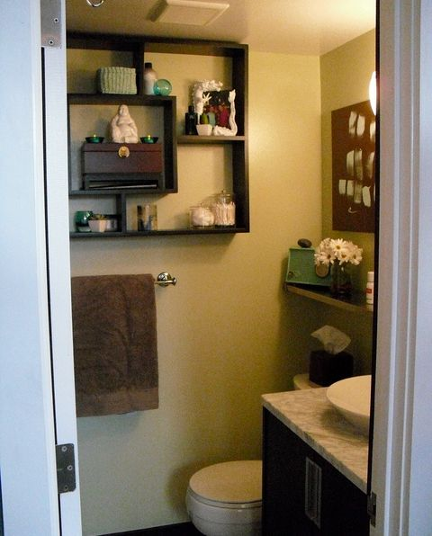 Small Bathroom On Budget But Big On Style
