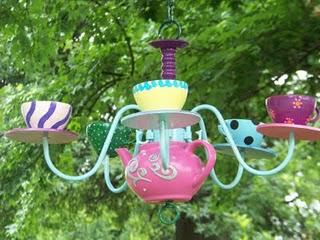 Alice In Wonderland Inspired Diy Teapot Chandelier 1