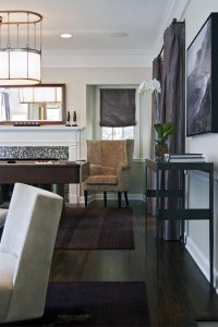 Decorating arund dark floors