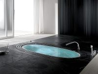 Sorgente Built-In Whirlpool Bathtub by Teuco Guzzini[Video]