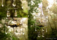 Beautiful DIY Chicken Wire Chandelier