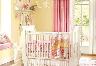 Nursery Curtains With Valance