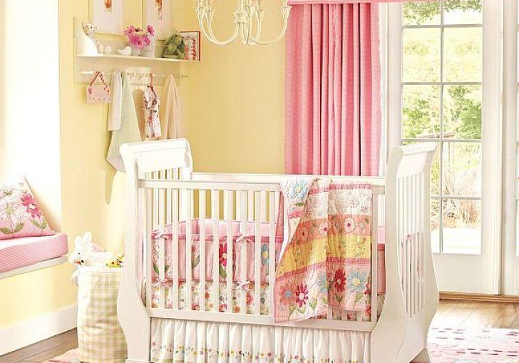 Nursery Curtains With Valance