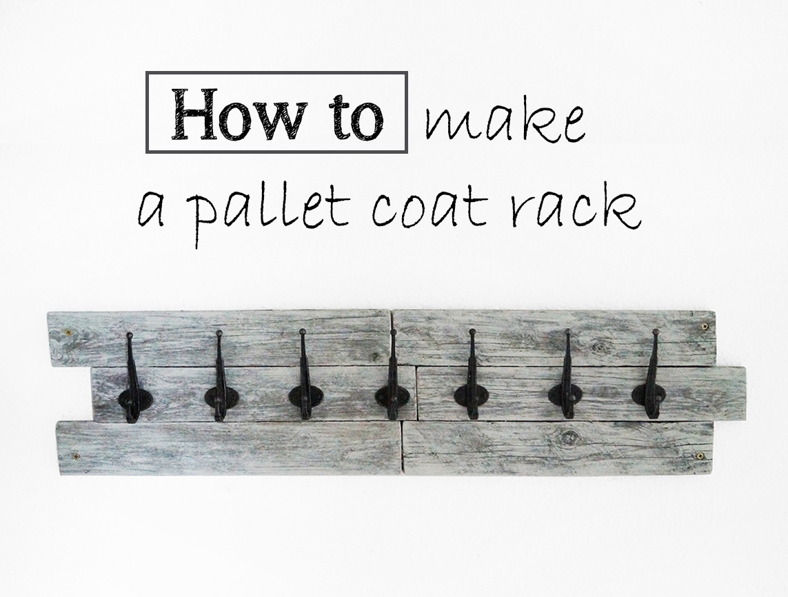 Useful Diy Coat Rack From A Wood Pallet
