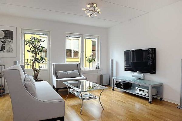 Contemporary Apartment In Stockholm