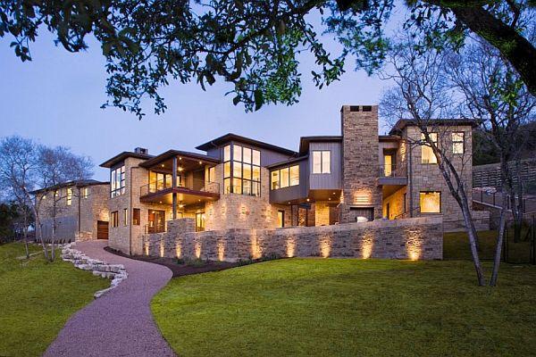 Sleek House In Austin, Texas By James D. LaRue Architects