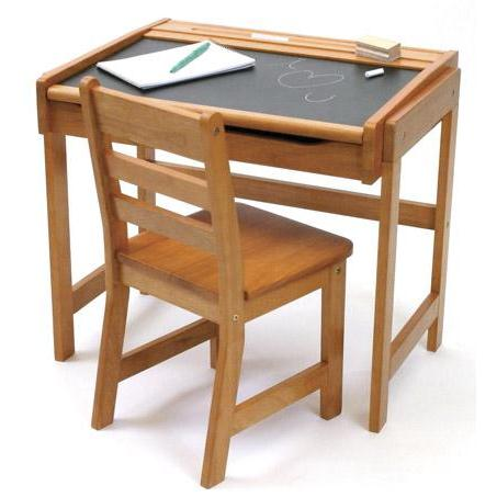 Back To SchoolCreative chalkboard top desk for kids