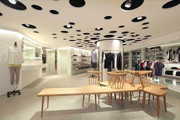 Department store design in Hong Kong by Wonderwall