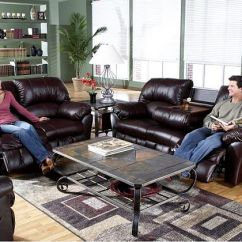 Burgundy Sofa And Loveseat Ikea Chaise Longue Incredibly Relaxing Benson Leather Match Motion