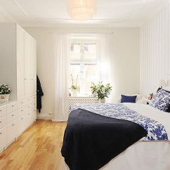 White Kitchen Bench Cabinets For Sale Craigslist Stylish 3-bedroom Apartment In Stockholm