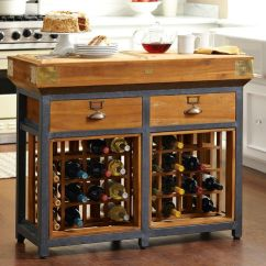 Kitchen Wine Rack Rugs For Area French Chef S Island With Racks