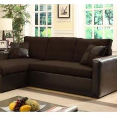 Brown Microfiber Sofa Bed Italian Leather Brands Modern With Storage Chase
