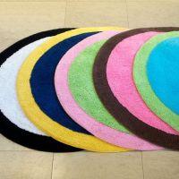 circle bath rugs
