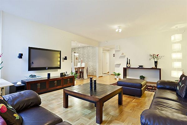 gallery of living rooms decorating ideas blue and white room 125 sqm 4+1 apartment in stockholm for sale