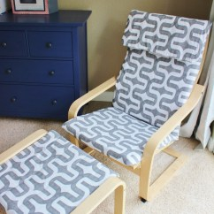 How To Make A Rocking Chair Ikea Desk And Incorporate The Poang In Your Décor Diy Projects