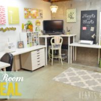 elegant-craft-room - Home Decorating Trends - Homedit