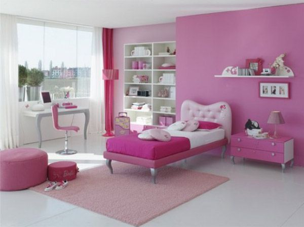 room for teens girl pink picture Design A Room