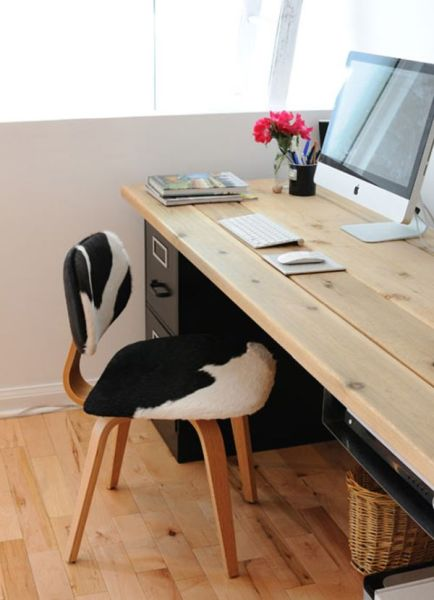 home office desk work 20 DIY Desks That Really Work For Your Home Office
