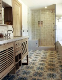 Mix and match patterned tiles for a unique dcor