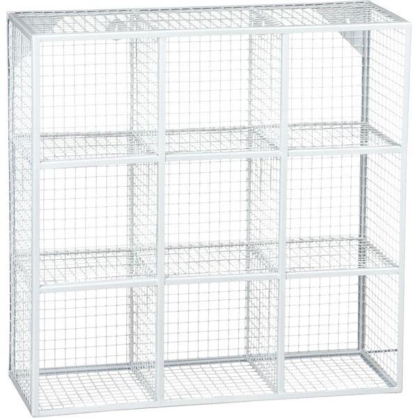 Wire 9 wall shelf