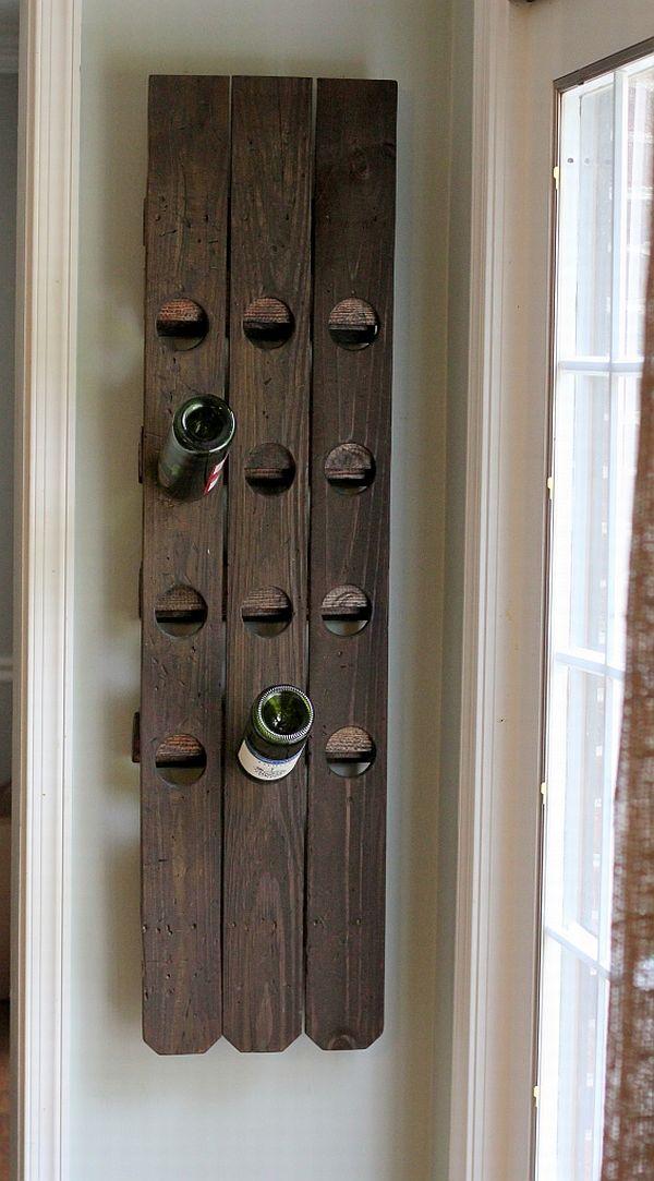 6 Versatile WallMounted Wine Rack Designs You Can Craft
